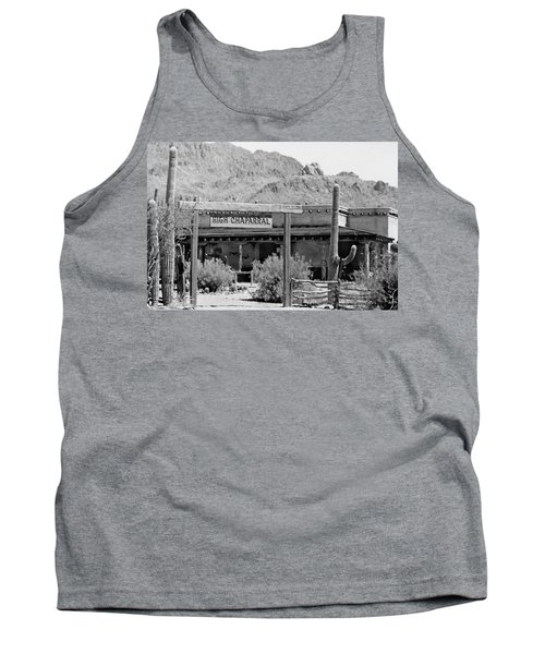 The High Chaparral Set With Sign Old Tucson Arizona 1969-2016 Tank Top