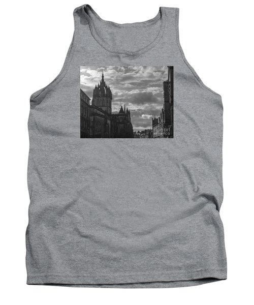 The High Kirk Of Edinburgh Tank Top by Amy Fearn