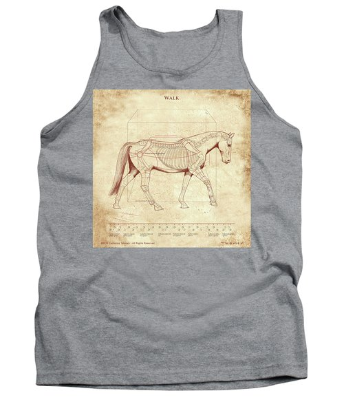 The Horse's Walk Revealed Tank Top by Catherine Twomey