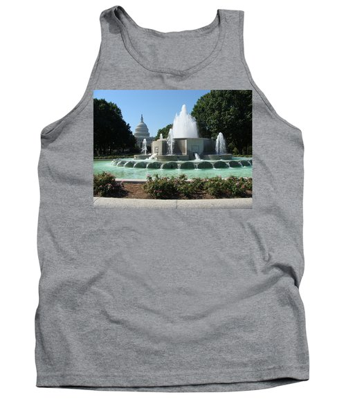 The House Of Democracy Tank Top by Rod Jellison