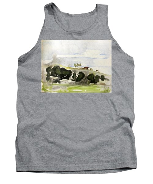 The House On The Hill Tank Top