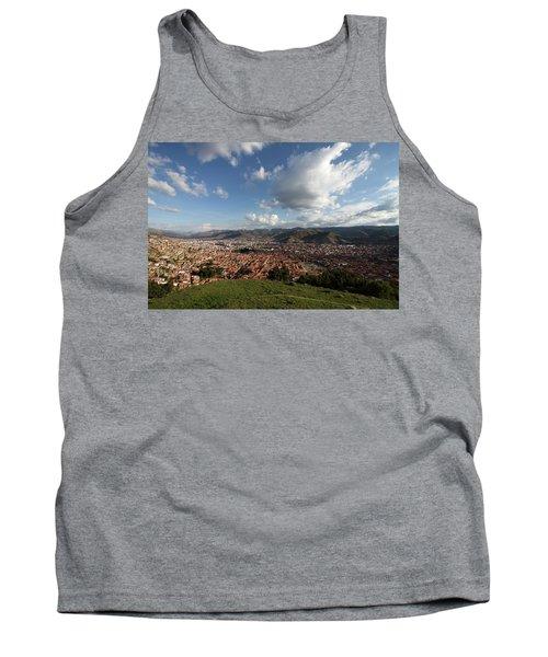 Tank Top featuring the photograph The Inca Capital Of Cusco by Aidan Moran