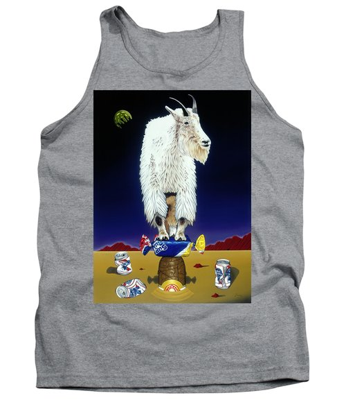 The Intoxicated Mountain Goat Tank Top