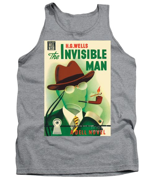 Tank Top featuring the painting The Invisible Man by Gerald Gregg