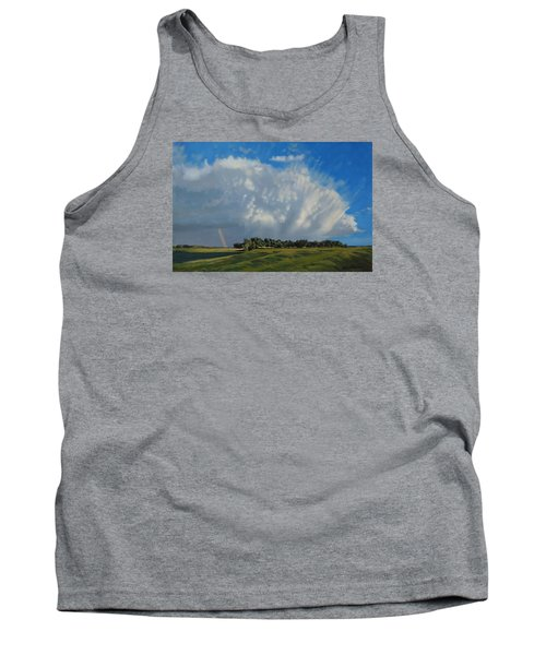The June Rains Have Passed Tank Top by Bruce Morrison