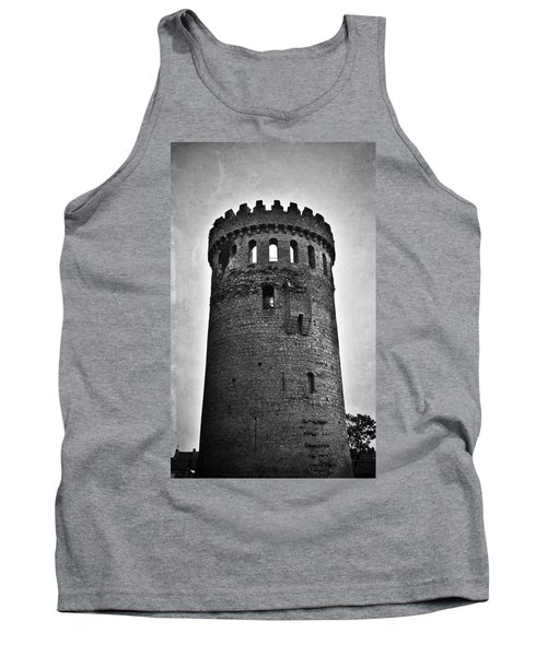 The Keep At Nenagh Castle In Nenagh Ireland Tank Top