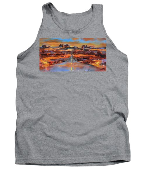 The Land Of Rock Towers Tank Top