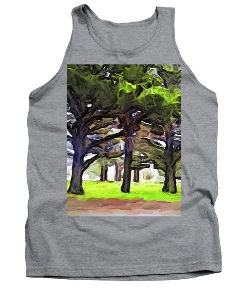 The Landscape With The Leaning Trees Tank Top