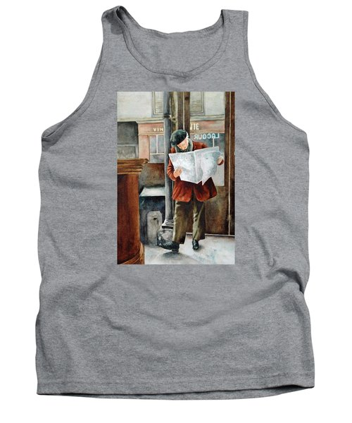 The Latest News Tank Top