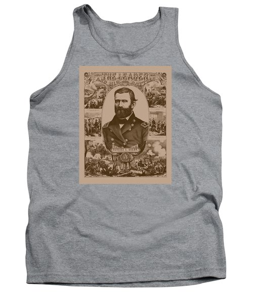 The Leader And His Battles - General Grant Tank Top