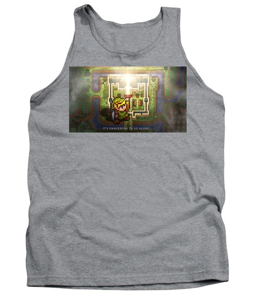 The Legend Of Zelda A Link To The Past Tank Top