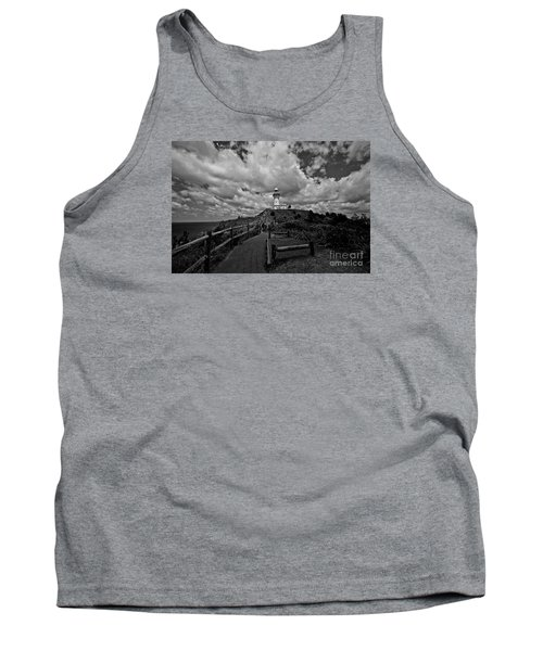 Tank Top featuring the photograph The Light House by Gary Bridger
