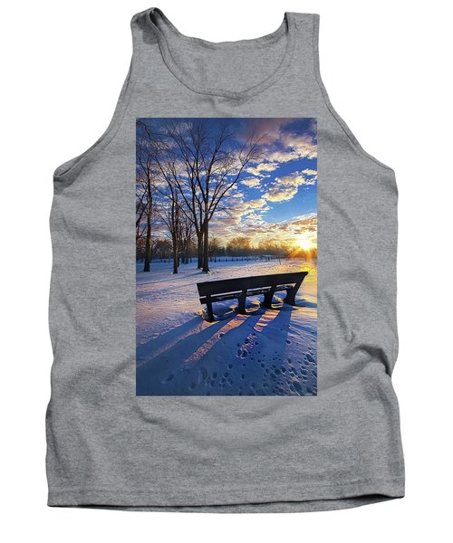 Tank Top featuring the photograph The Light That Beckons by Phil Koch