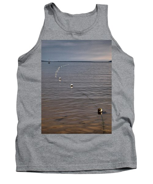Tank Top featuring the photograph The Line by Jouko Lehto
