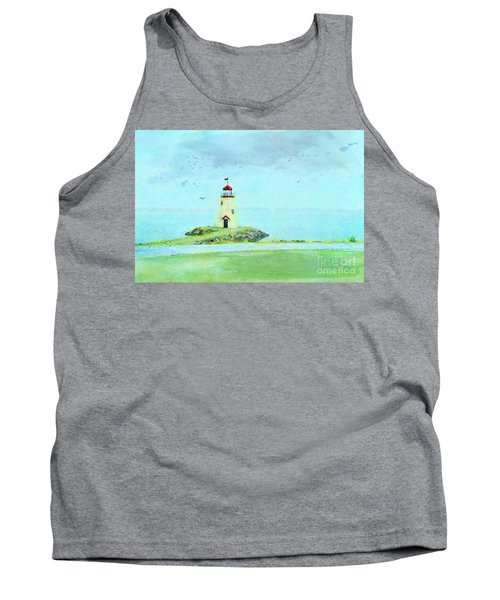 The Little Lighthouse That Could Tank Top