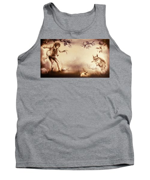 The Little Prince And The Fox Tank Top