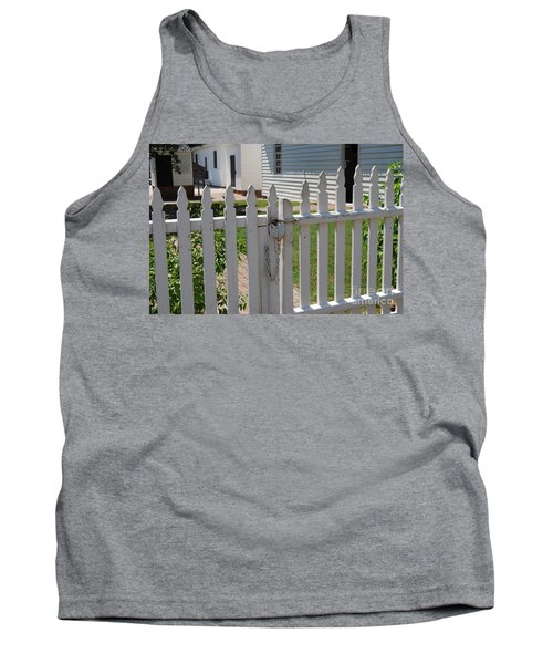 Tank Top featuring the photograph The Lock by Eric Liller