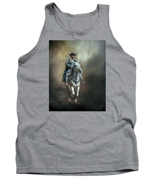 Tank Top featuring the photograph The Lone Drifter by Brian Tarr