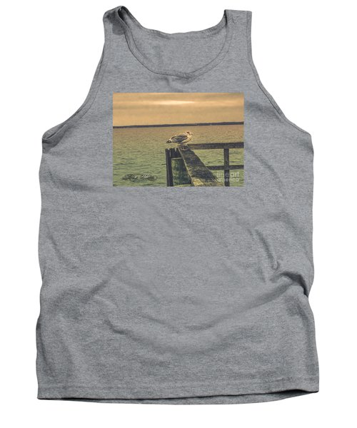 Tank Top featuring the photograph The Loner by Melissa Messick