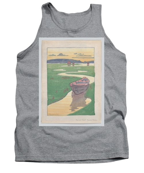 The Lost Boat , Arthur Wesley Dow Tank Top