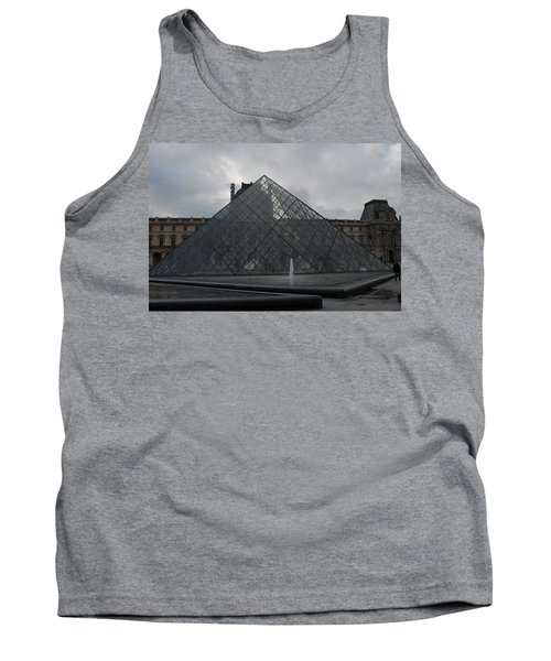 Tank Top featuring the photograph The Louvre And I.m. Pei by Christopher Kirby