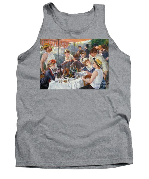 The Luncheon Of The Boating Party Tank Top