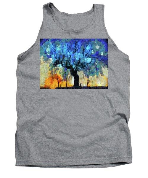 The Magic Blue Faraway Tree Tank Top