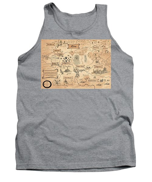 The Map Of The Enchanted Kira Tank Top