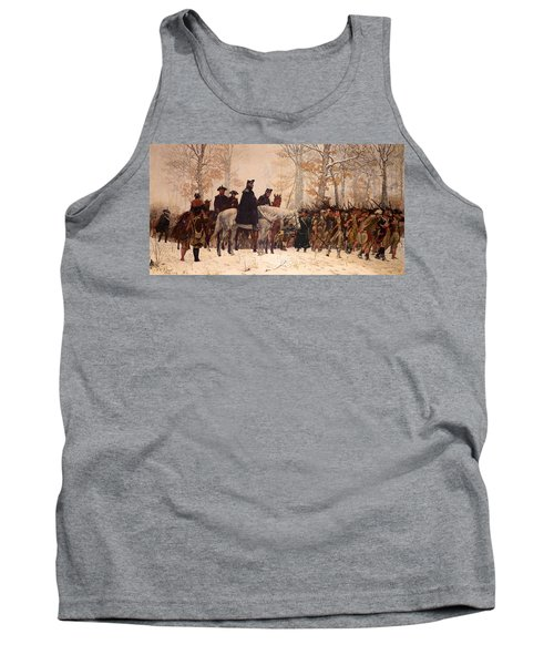 The March To Valley Forge Tank Top