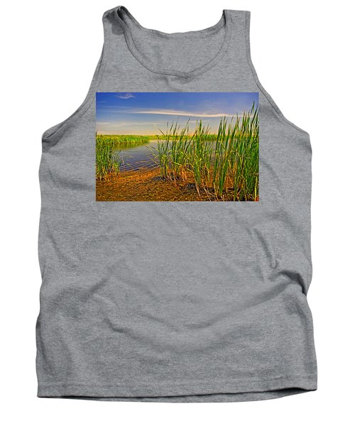 The Marshes Of Brazoria Tank Top