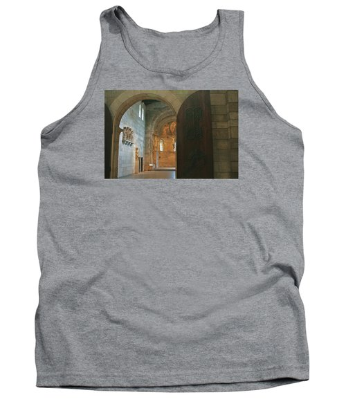 An Early Morning At The Medieval Abbey Tank Top