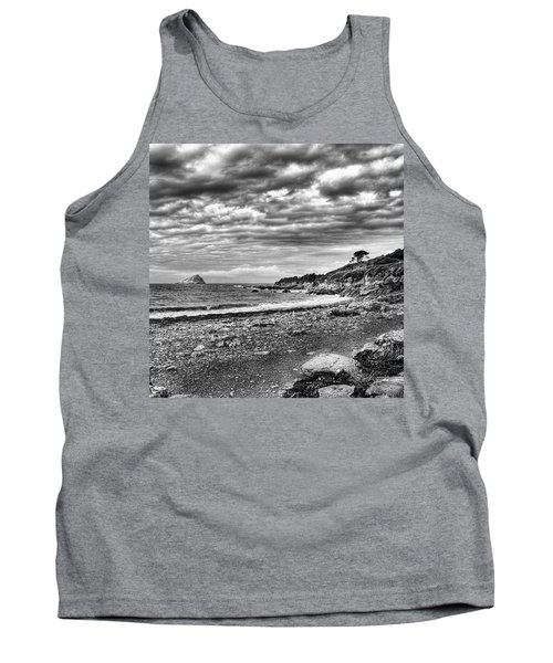 The Mewstone, Wembury Bay, Devon #view Tank Top