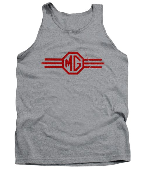 The Mg Sign Tank Top