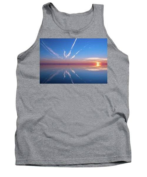 The Mirror Tank Top by Thierry Bouriat