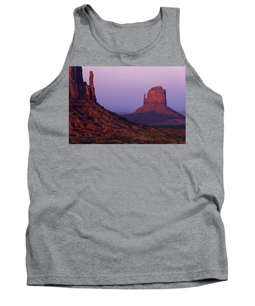Tank Top featuring the photograph The Mittens by Chad Dutson