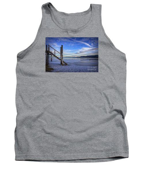 The Morning After Blues Tank Top by Mitch Shindelbower
