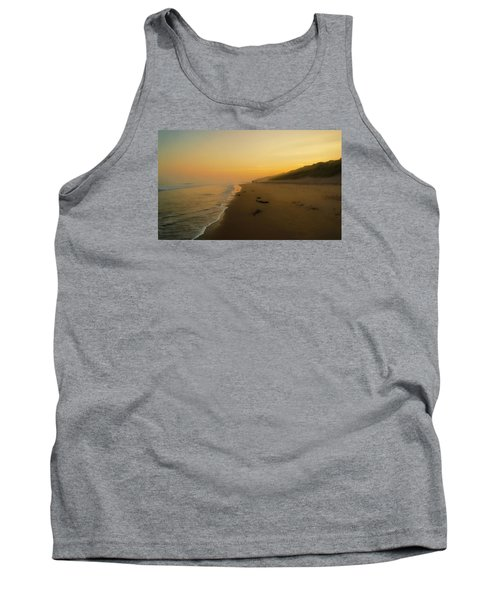 Tank Top featuring the photograph The Morning Walk by Roy McPeak