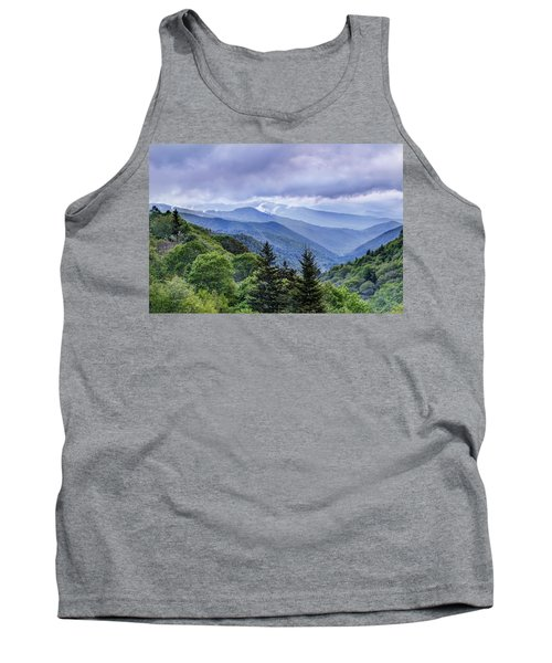 The Mountains Of Great Smoky Mountains National Park Tank Top