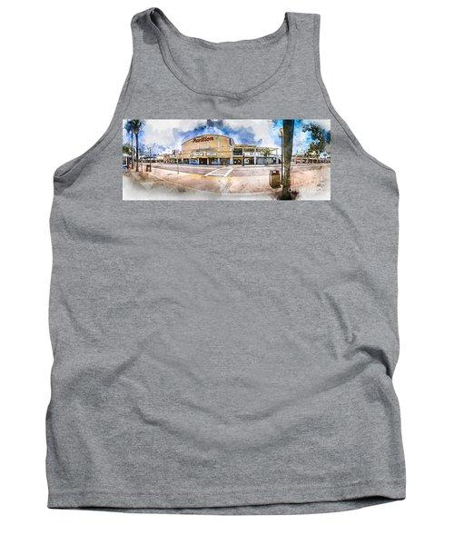 The Myrtle Beach Pavilion - Watercolor Tank Top
