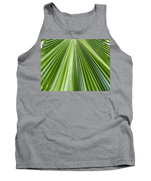 The Nature Of My Abstraction Tank Top by Russell Keating