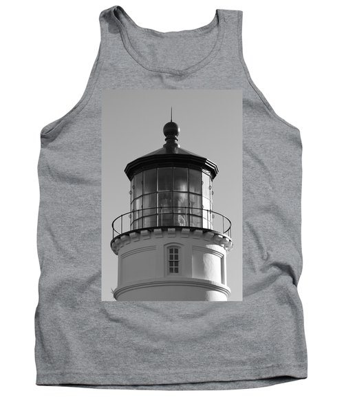 Tank Top featuring the photograph The Night Light by Laddie Halupa