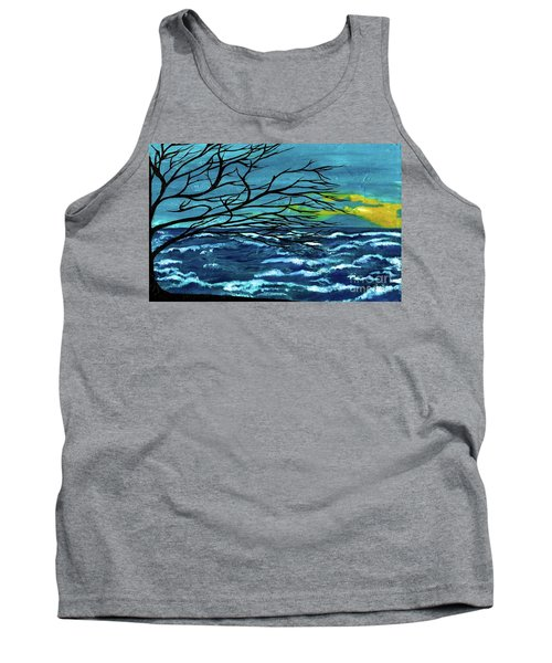 The Ocean Tank Top by Saribelle Rodriguez