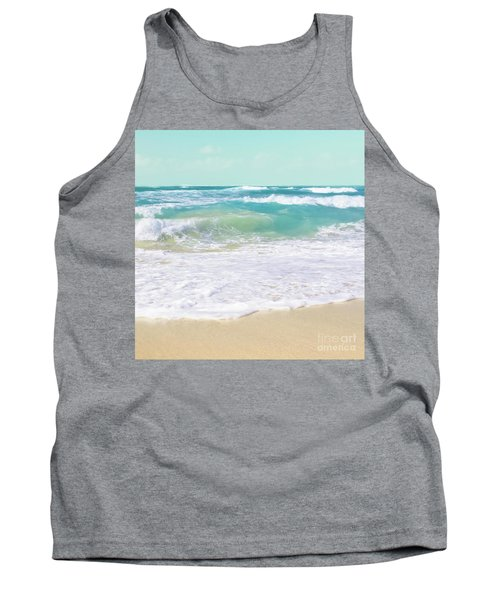 Tank Top featuring the photograph The Ocean by Sharon Mau