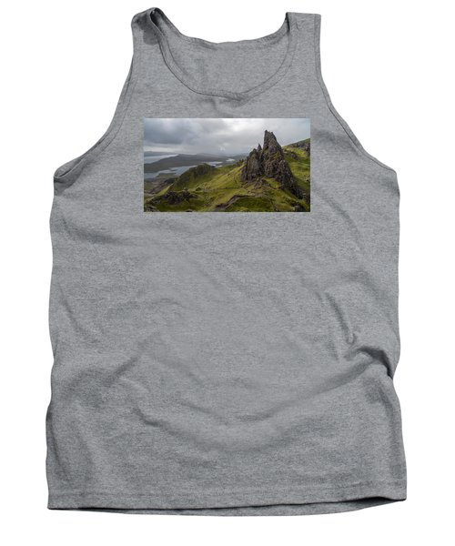 The Old Man Of Storr, Isle Of Skye, Uk Tank Top by Dubi Roman