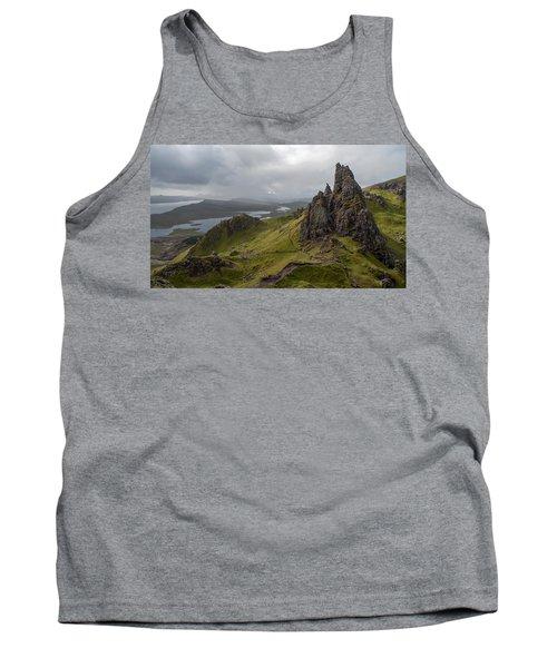 The Old Man Of Storr, Isle Of Skye, Uk Tank Top