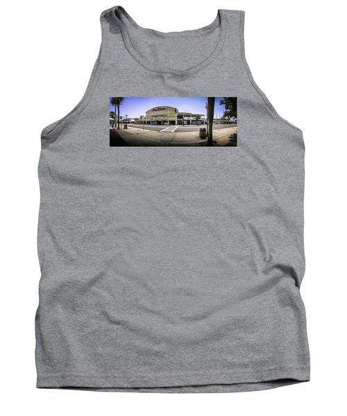 The Old Myrtle Beach Pavilion Tank Top by David Smith