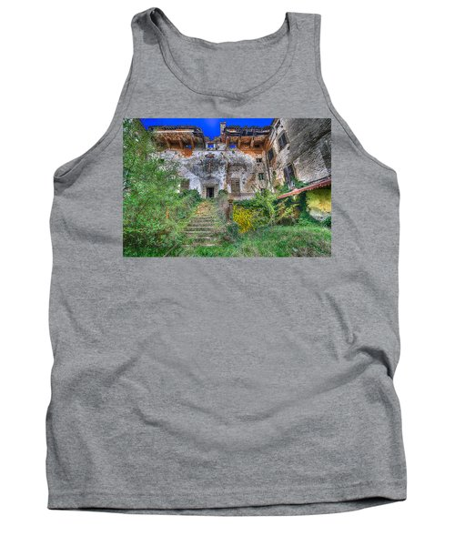 The Old Ruined Castle Tank Top