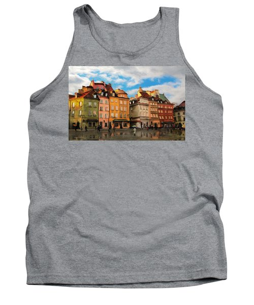 Old Town In Warsaw # 23 Tank Top