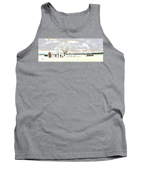The Old Winter Homestead Tank Top