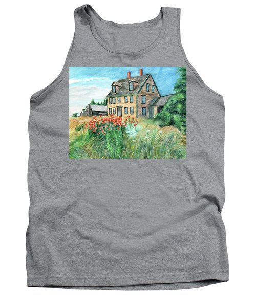 The Olson House With Poppies Tank Top